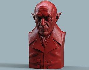 Nosferatu bust 3D print model