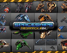 Spaceships Megapack 04 3D