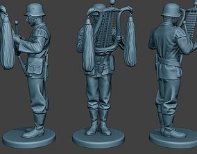 3D printable model German musician soldier ww2 Stand 2