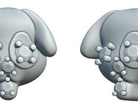 3D printable model Dog earring