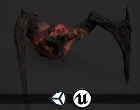 3D model Creepy Horror Monster - PBR and