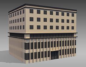 Commercial Building 001 3D