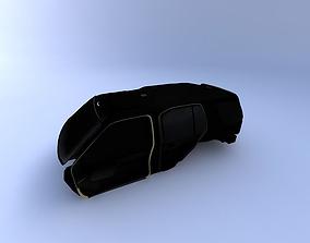 1999 Nissan Xterra Interior 3D model
