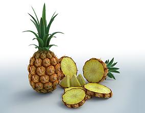 Pineapple 3D model PBR
