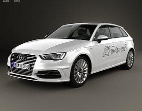 3D Audi A3 Sportback e-tron 2013