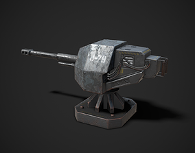 Turret Sentry Game Model game-ready