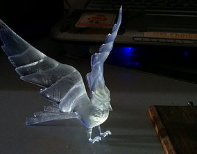 3D print model Bird with wings stretched back