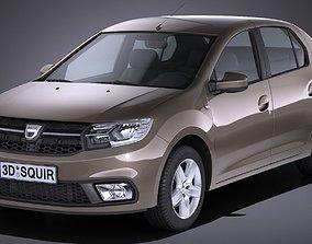 Dacia Logan 2017 3D
