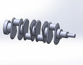 Engine Crank-Saft 3D