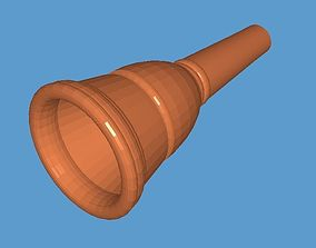 3D print model Schaller 1-L Trombone Mouthpiece