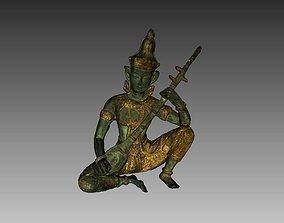 Indian God Sculpture 3D Scan