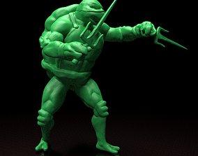 Raphael TMNT stl file 3d print model