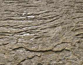 3D Muddy terrain and puddles 3 PBR