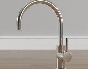 3D model Arc Vessel Bathroom Faucet