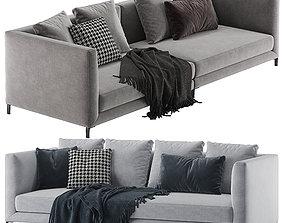 3D Minotti allen sofa modern