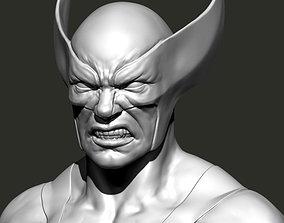 Wolverine Bust 3D print model