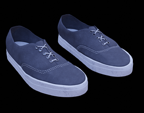 3D model Vans Style shoes