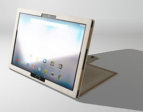 tablet with case 3D model