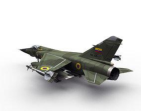 3D model Mirage F1 Ecuador scheme