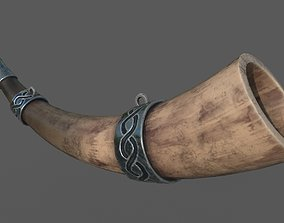 3D asset LowPoly Horn for FREE