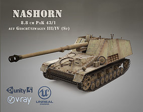 SdKfz 164 NASHORN 3D asset