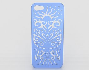 3D print model Butterfly Iphone Case 5 5s