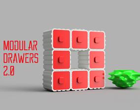 3D print model Modular Drawers 2