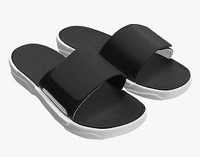 Men slides footwear sandals 02 3D model