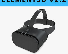 E3D - 3D New Google Daydream View VR 2017 Headset 3D