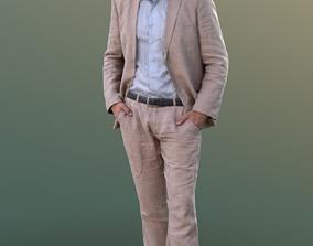 Simon 10083 - Standing Business Man 3D asset VR / AR ready