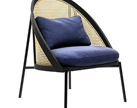 Loie Lounge Chair by Gebruder Thonet Vienna 3D