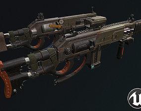 3D model Plasma shotgun