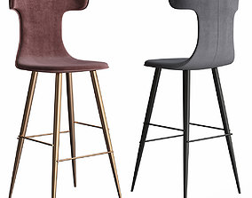 Holy - Sg Bar Stool low poly 3d model game-ready