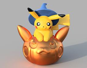 Pikachu Flying Pumpkin 3D printable model