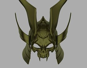 Emperor Shao Kahn helmet from Mortal 3D print model 3