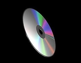 3D cd compact disk