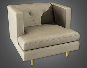 ARV1 - Accent Chair 01a - Arch Viz - Game Ready 3D model