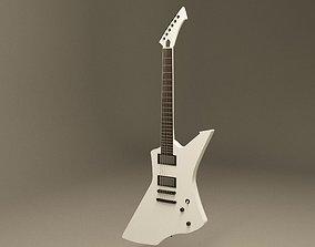 3D model Guitar ESP snakebyte