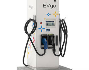 3D Electric Vehicle Charging Station EV GO Pat 1