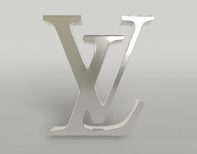 Louis Vuitton Logo 003 3D model