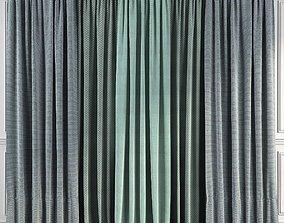 Curtain Set 57 3D model