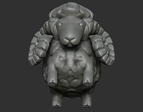 3D print model Decorative lamb