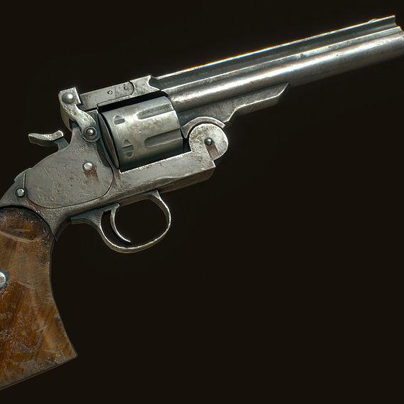 Pistol - Gallery | CGTrader