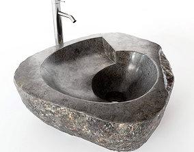 stone 3D model Stone Sink