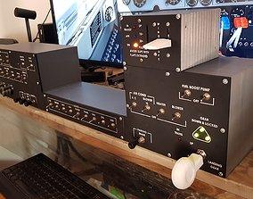 Switch Panel for Baron B58 3D printable model
