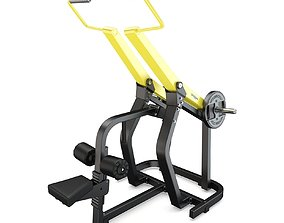 Technogym - Plate Loaded - Pulldown 3D