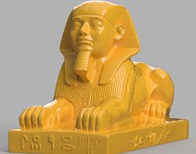 Sphinx 3D print