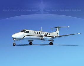 3D Beechcraft B1900C V06