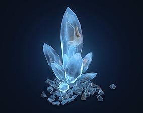 3D asset Crystal Rock