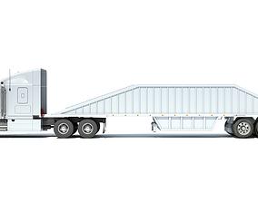 belly 3D model Bottom Dump Truck